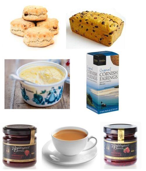 Cream Tea with Saffron Fairings