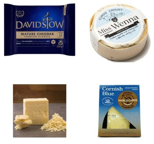 Davidstow Blue Smoked Wenna Cheeses Only