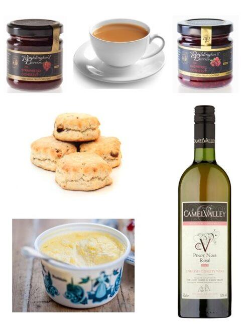 Cream Tea with Camel Valley Rosé
