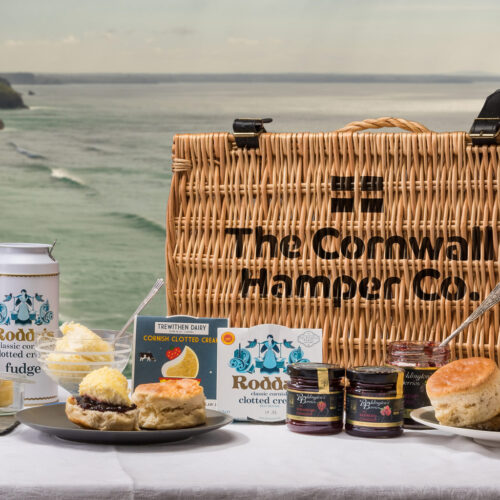 Cornish Cream Tea Hampers
