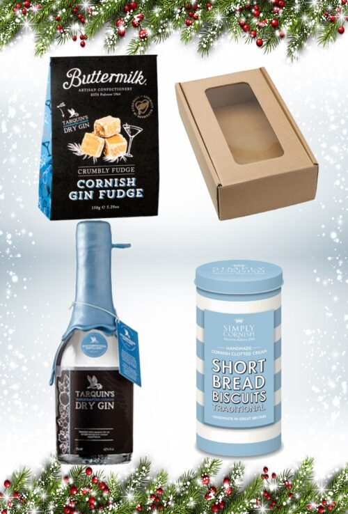 Christmas Blue Fudge Gift Box