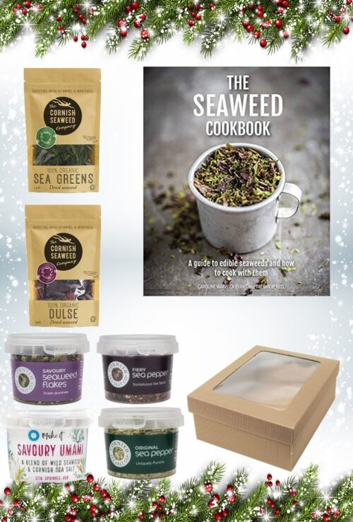Christmas Seaweed Book Salts